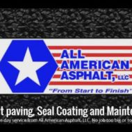 All American Asphalt – Seal Coating Specialists