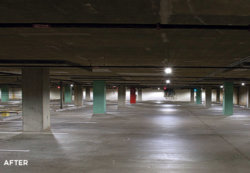 Parking Garage: Annual Savings with LEDs